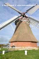 Grijpskerk. De Westerhorner molen.